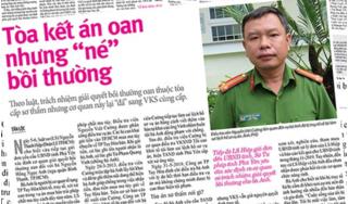Cựu trung tá 'bịa' lời khai vào biên bản hỏi cung để buộc tội oan lĩnh án