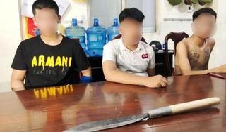 Cảnh sát nổ súng bắt nhóm thanh niên đang 'dàn trận' chém nhau