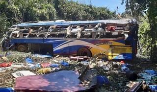 Tin mới nhất về các nạn nhân bị thương trong vụ lật xe khách ở Kon Tum