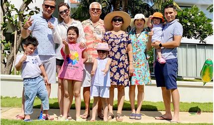 Jennifer Phạm đi du lịch kết hợp làm từ thiện cùng gia đình chồng