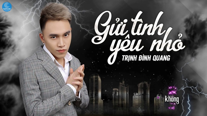 Lời bài hát Gửi tình yêu nhỏ Trịnh Đình Quang