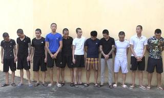 Thanh Hóa: Tạm giam 11 đối tượng dàn trận đánh nhau