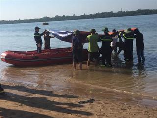 Tìm thấy thi thể nam thanh niên đuối nước trên sông Lam