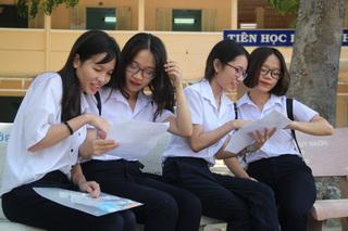 Đáp án đề thi môn Toán vào lớp 10 THPT tỉnh Ninh Thuận năm 2020