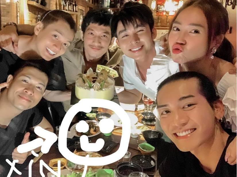 Dàn cast 'Chạy đi chờ chi' tụ họp mừng sinh nhật, sự vắng mặt của Trấn Thành gây chú ý