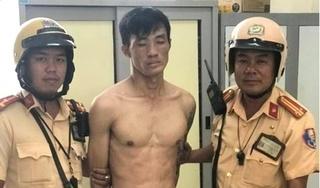 Trộm rút dao hung hãn chống trả CSGT khi bị truy bắt