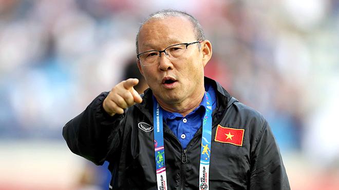 HLV Park Hang Seo lo lắng về phong độ của Văn Thanh và Trọng Hoàng