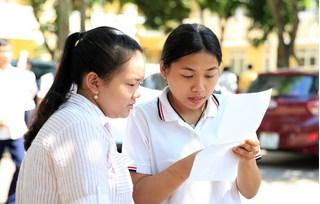 Đáp án đề thi môn Toán vào lớp 10 THPT TP Đà Nẵng năm 2020