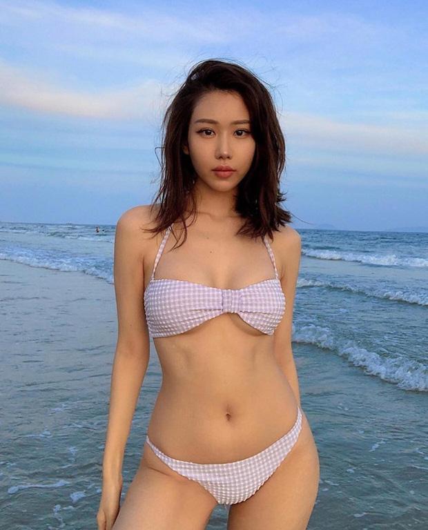 Hậu giảm cân, Min tự tin diện bikini khoe vóc dáng nóng bỏng