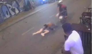 Bắt khẩn cấp 2 tên cướp kéo lê cô gái trên phố đi bộ Bùi Viện
