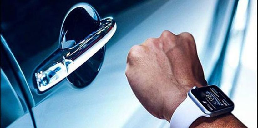 Apple watch tích hợp car key