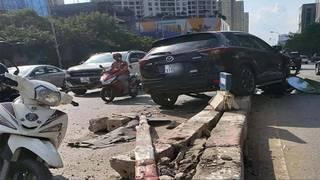 Tin tức tai nạn giao thông ngày 17/7: Tài xế xe con húc văng dải phân cách