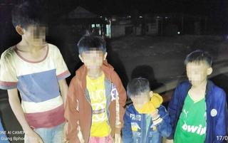 Bốn trẻ nhỏ bỏ nhà đi lang thang, thầy bói phán 'ôm nhau chết dưới hồ'