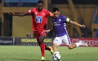 Hậu vệ phản lưới nhà, Hải Phòng thua cay đắng Hà Nội FC
