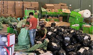 Phát hiện kho hàng lậu số lượng lớn tại cảng Mỹ Đình