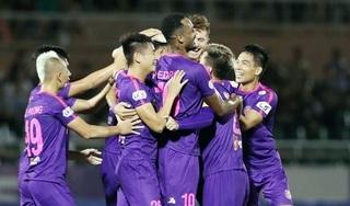 DNH Nam Định thua đậm Sài Gòn FC ở vòng 10 V.League