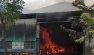 Cháy xưởng phun sơn ở Bắc Ninh, một người tử vong