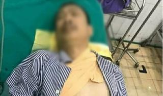 Nghịch tử 17 tuổi chém bố đẻ nhập viện cấp cứu