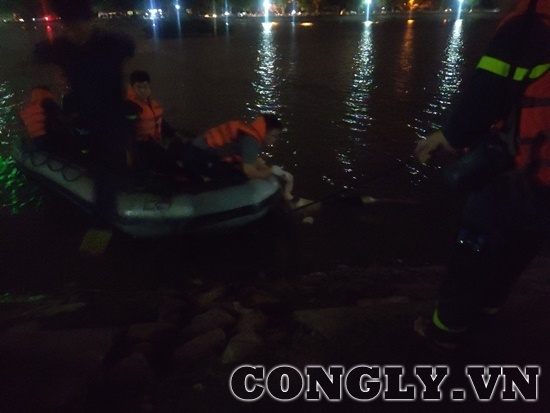 Phát hiện thi thể người đàn ông đuối nước ở hồ Định Công