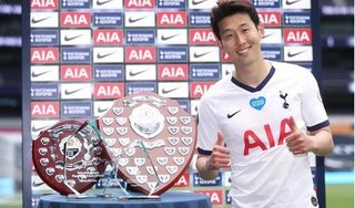 Son Heung-min giành cùng lúc 4 danh hiệu cao quý