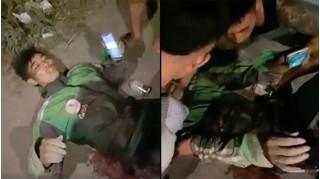 Cha tài xế GrabBike gặp cướp ở Hà Nội: 'Con tôi bị đâm tới 6 nhát'
