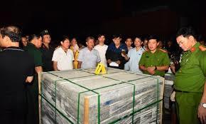 Phát hiện 40 kg ma tuý đá giấu trong container ở cảng Cát Lái