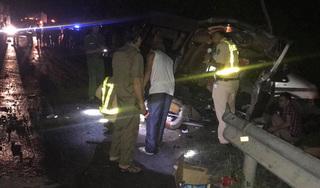 Chưa xác định được người lái xe khách 16 chỗ làm 8 người chết
