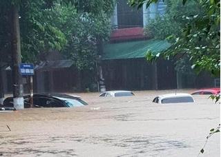 Hà Giang chìm trong mưa lũ, 2 mẹ con tử vong vì bị đất đá vùi lấp
