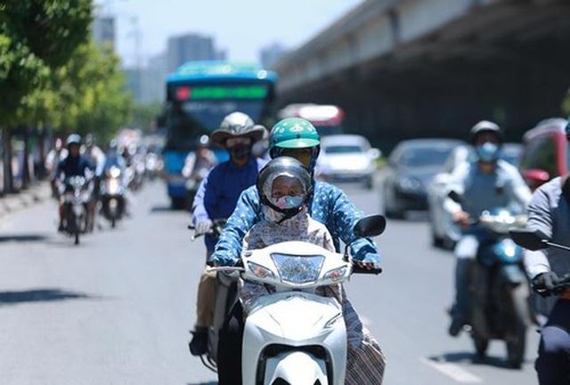 Hà Nội và các tỉnh đồng bằng Bắc Bộ nắng nóng tới hết tuần