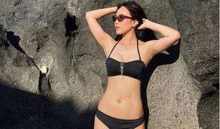 Hậu giảm cân, Diệu Nhi tự tin diện bikini khoe vòng eo săn chắc