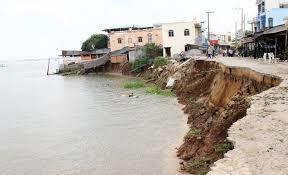 Tin tức trong ngày 22/7, bờ tây sông Hậu sạt lở mạnh, diễn biến phức tạp