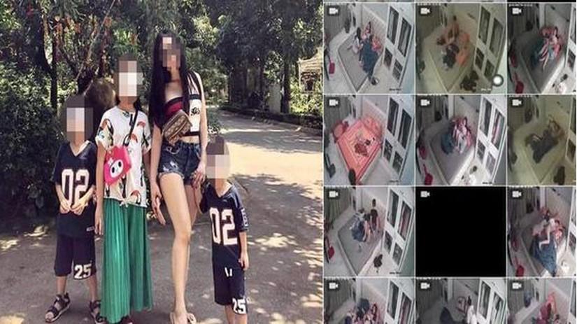 CĐM xôn xao clip người phụ nữ bán khỏa thân để các bé trai