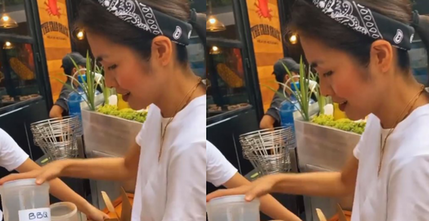 Tiên Nguyễn thích ăn khoai tây lắc, Hà Tăng đích thân vào bếp chiều em chồng
