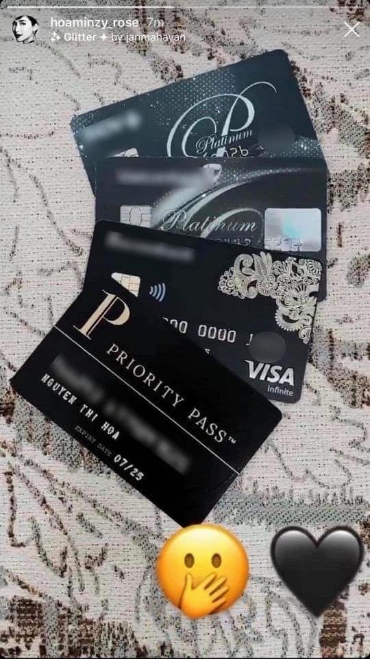 Khoe thẻ tín dụng đen quyền lực, Hòa Minzy khẳng định độ giàu có kếch xù