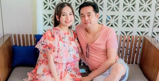 Bà xã Dương Khắc Linh hào hứng khoe ảnh siêu âm 2 nhóc tỳ 'đẹp trai'