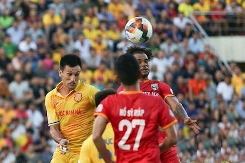 DNH Nam Định hòa trên thế thắng trước Bình Dương ở vòng 11 V.League