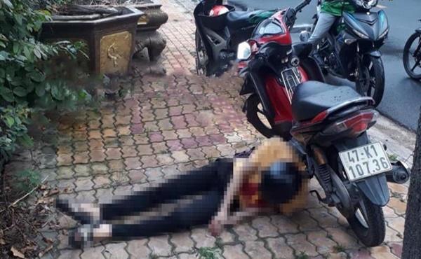 Bí ẩn cái chết của nam thanh niên bên cạnh xe máy với con dao trên ngực