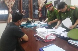 Khám xét nơi làm việc của Quyền Trưởng phòng Chính sách Ban Dân tộc Nghệ An