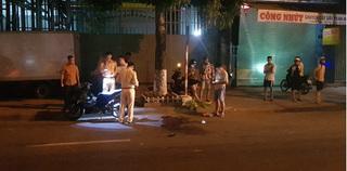 Chạy xe máy giữa đường, nam thanh niên bị dây cáp cắt ngang cổ