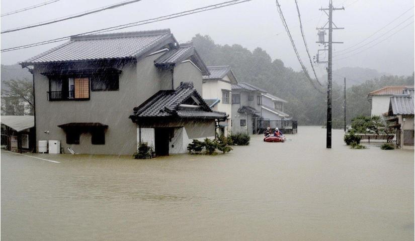 Tin tức thế giới 24/7, bão và mưa lớn tàn phá nhiều nơi của Hàn Quốc