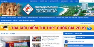 Tra cứu điểm thi vào lớp 10 THPT tỉnh Khánh Hòa 2020 ở đâu nhanh nhất