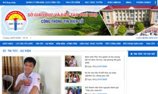 Tra cứu điểm thi vào lớp 10 THPT tỉnh Phú Thọ 2020 ở đâu nhanh nhất