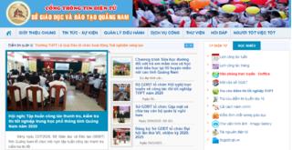 Tra cứu điểm thi vào lớp 10 THPT tỉnh Quảng Nam 2020 ở đâu nhanh nhất
