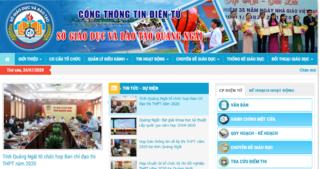 Tra cứu điểm thi vào lớp 10 THPT tỉnh Quảng Ngãi 2020 ở đâu nhanh nhất