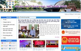 Tra cứu điểm thi vào lớp 10 THPT tỉnh Thừa Thiên Huê 2020 ở đâu nhanh nhất