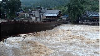 Hà Giang tiếp tục mưa to, lũ quét, miền bắc oi nóng những ngày cuối tuần