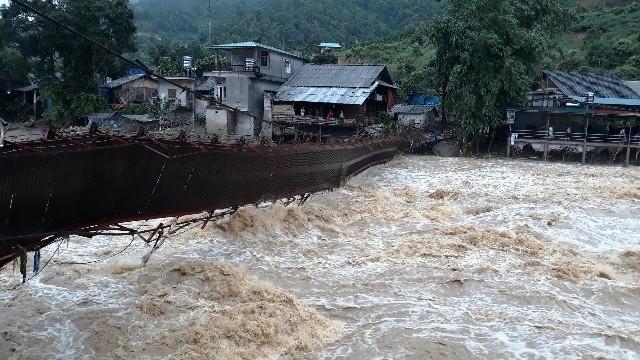Hà Giang tiếp tục mưa to, lũ quét, miền bắc oi nóng dịp cuối tuần