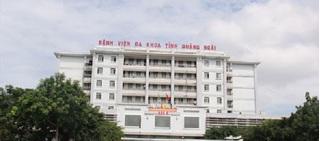 Bệnh viện TP.Quảng Ngãi ngưng tiếp nhận bệnh nhân từ ngày 27/7