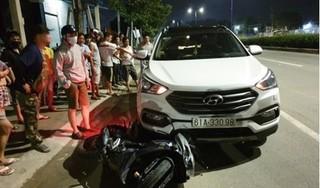 Ô tô kéo lê xe máy hàng chục mét khiến 1 người đàn ông tử vong