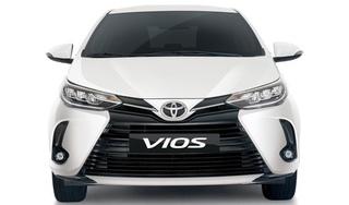 Toyota Vios 2021 lần đầu ra mắt với đèn pha LED